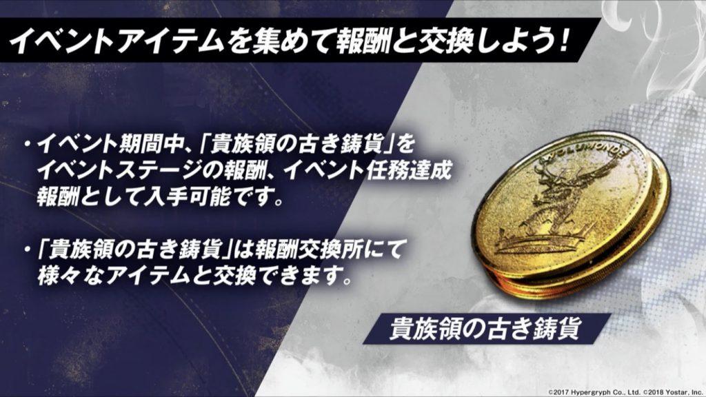 貴族領の古き鋳貨